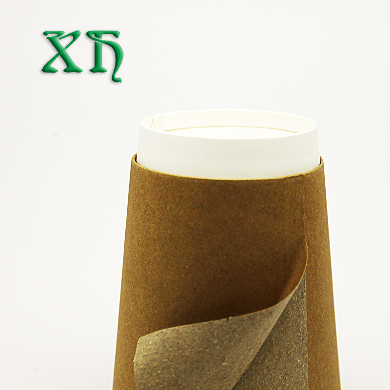 12 oz kraft double wall Compostable paper cups