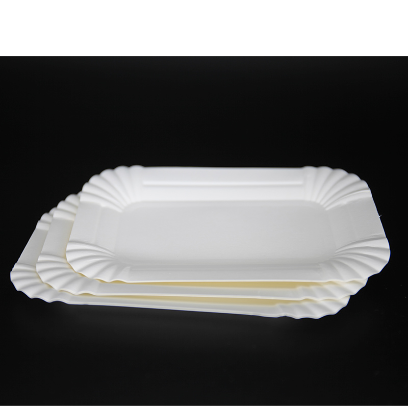 Square Paper tray plates