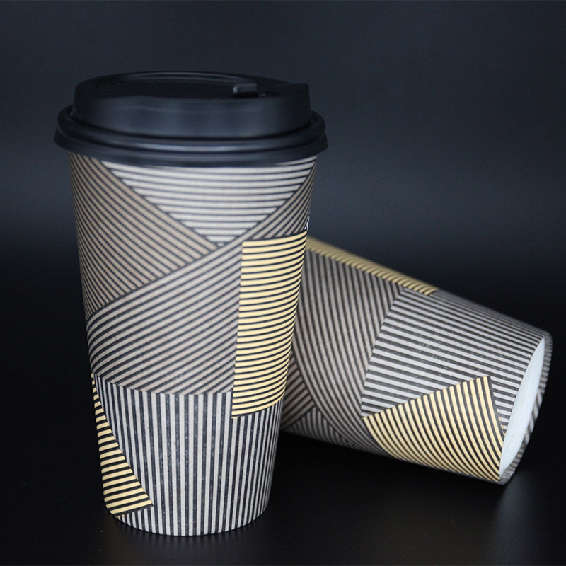 Disposable Single Wall Paper Coffee Cup